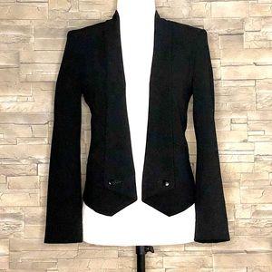 Jacob black tuxedo-style blazer